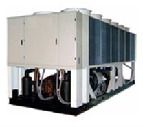 Control system for Air cooled Screw Heat Pump units